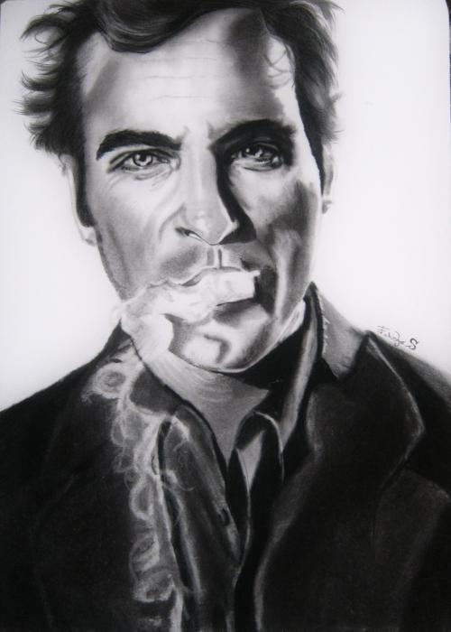 Joaquin Phoenix by gerryleene